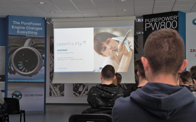 Aerodays Poland – the opening event of the Learn&Fly Challenge competition is behind us!
