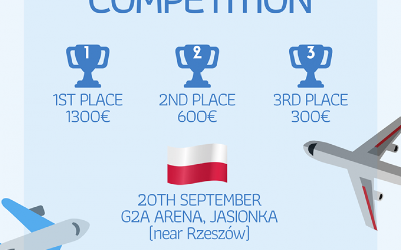 The International Competition is now on! ??